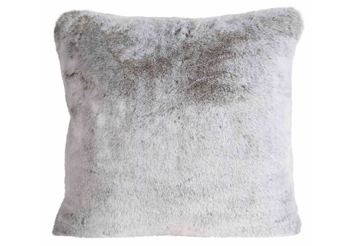 Winter-Home Cushion fur - Silverwolf