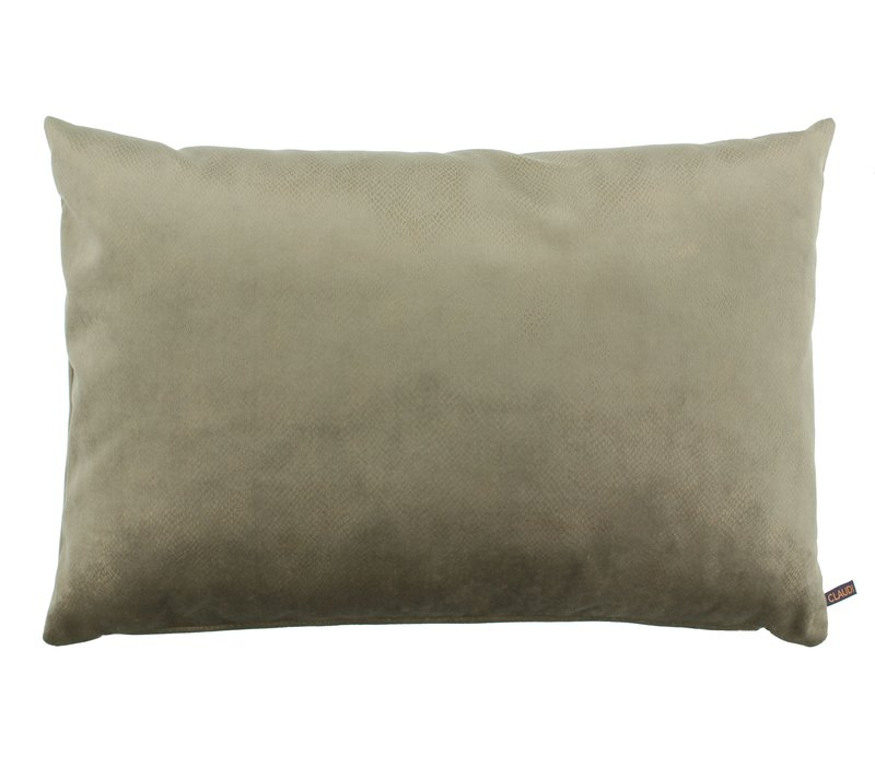 Throw pillow Mitchel Dark Sand