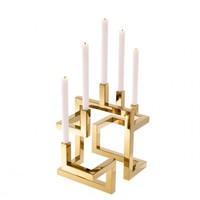 'Skyline' polished candlestick