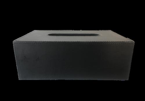 Dome Deco Tissue box rechthoekig 'Black'