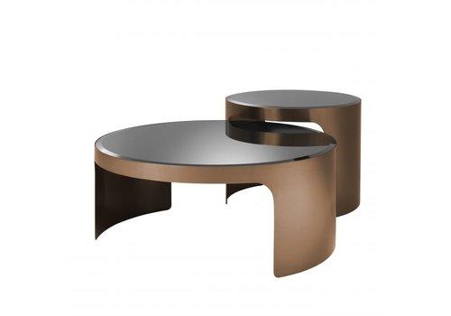 EICHHOLTZ Coffee table Piemonte Set of 2