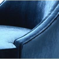 Armchair 'Dulwich' - Aegean blue