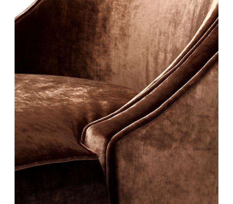 Armchair 'Dulwich' - Aegean orange