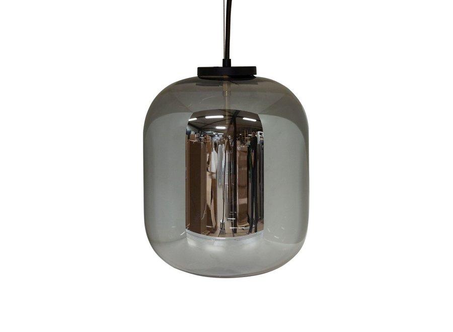 Hanglamp 'Bulb zwart' - M