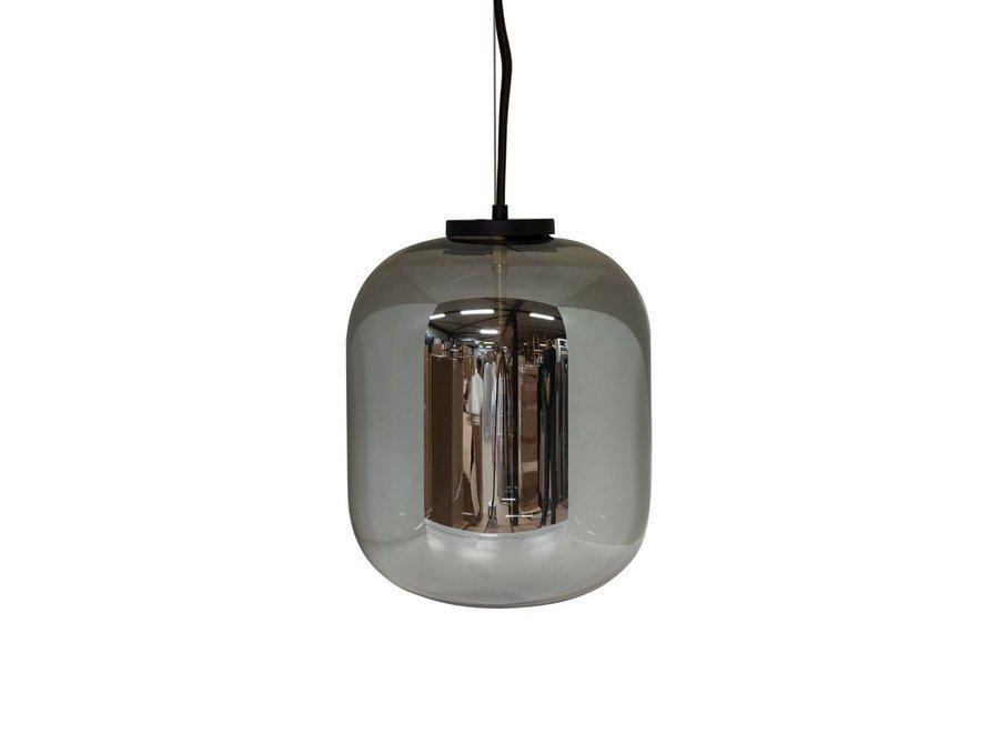 Hanglamp 'Bulb zwart' - S