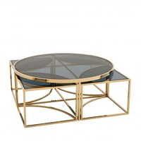 Coffee table 'Padova' - Gold