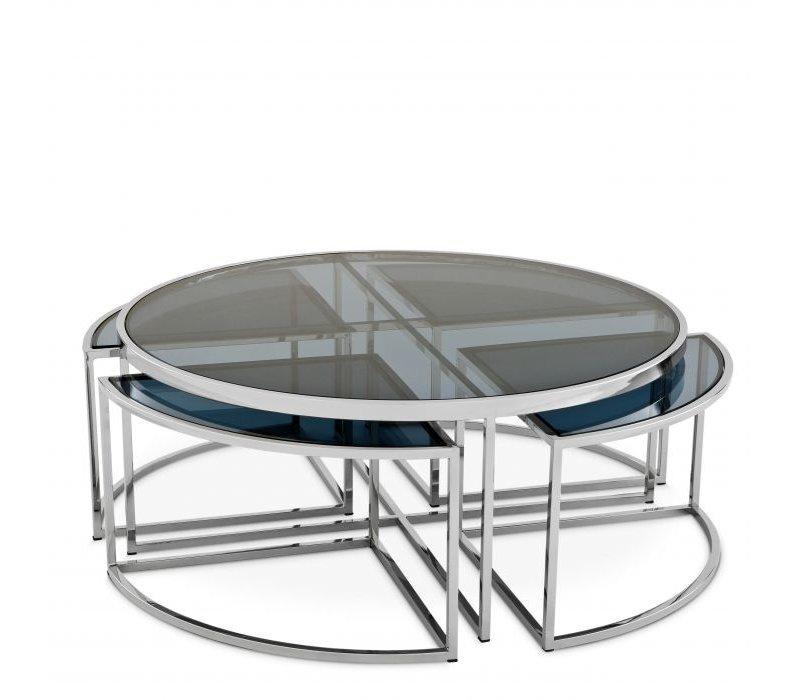 Coffee table 'Padova' - Silver