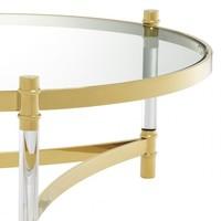 Couchtisch 'Trento' - Gold