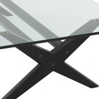 Coffee table 'Maynor' - Black