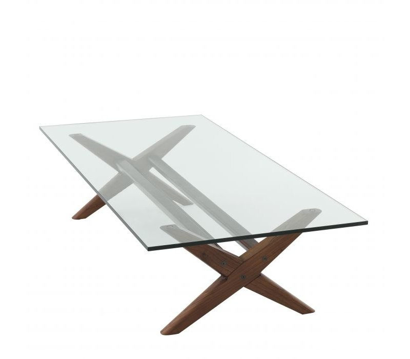 Coffee table 'Maynor' - Brown