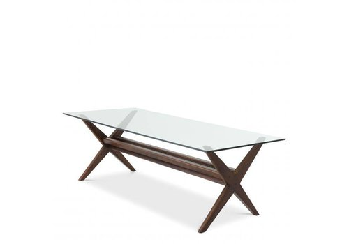 EICHHOLTZ Dining Table Maynor - Brown