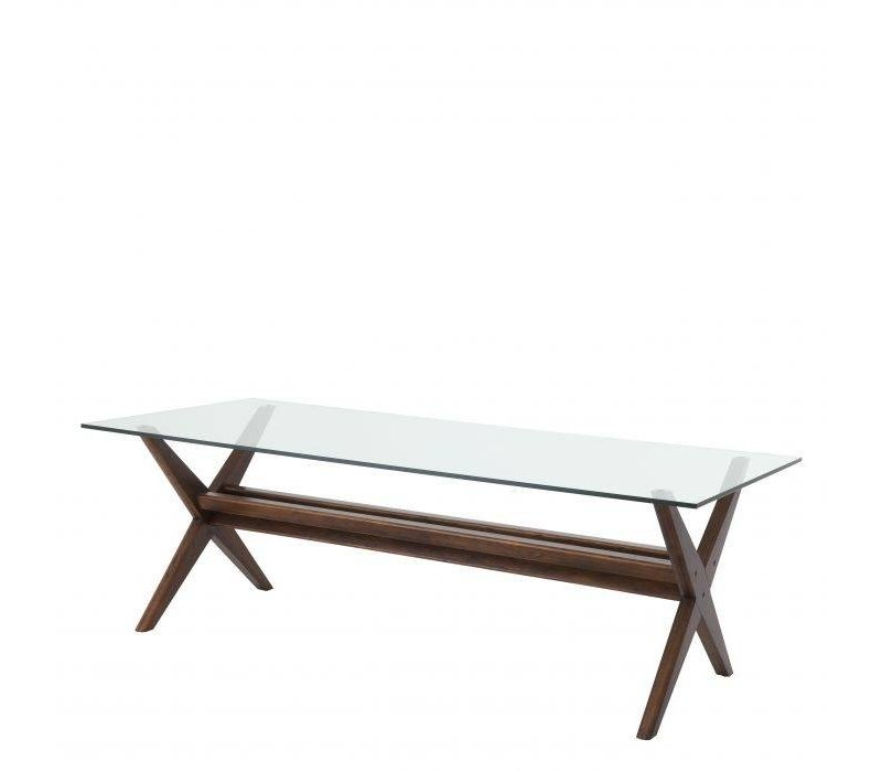 Dining Table 'Maynor' - Brown