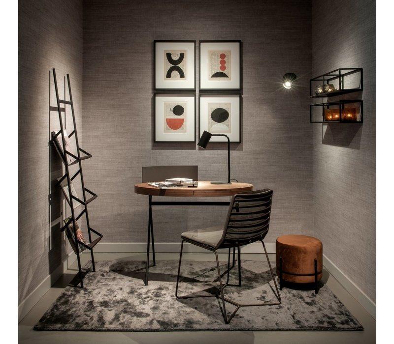 Dining chair 'Line' Anthracite MIRAGLIO