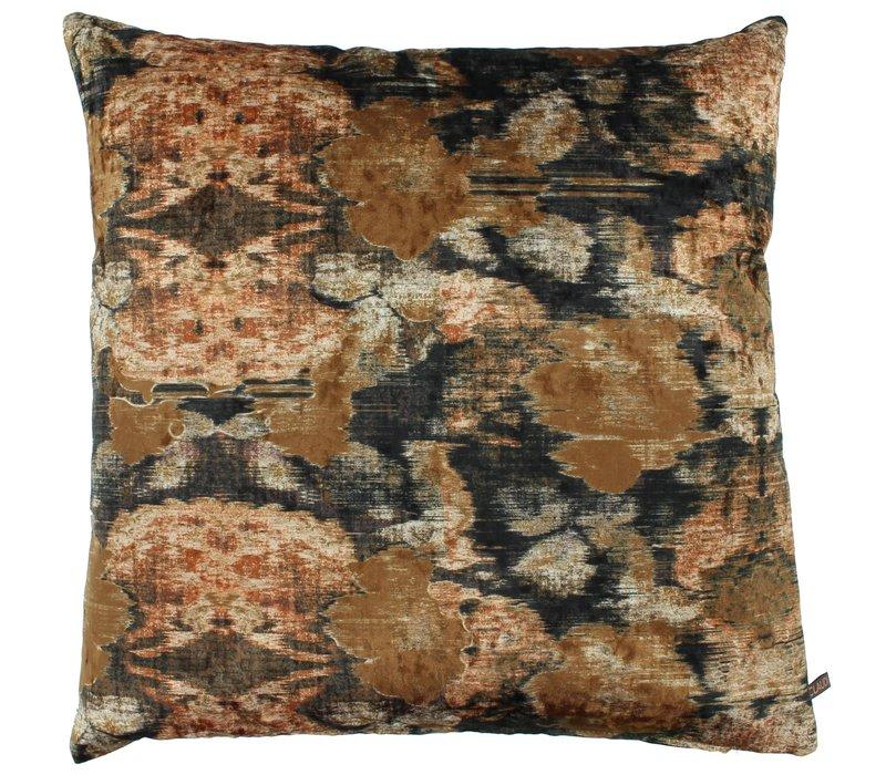 Cushion Ikat Ice Rust