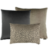 CLAUDI Cushion combination Brown/Dark Taupe: Perla, Speranza & Bandi