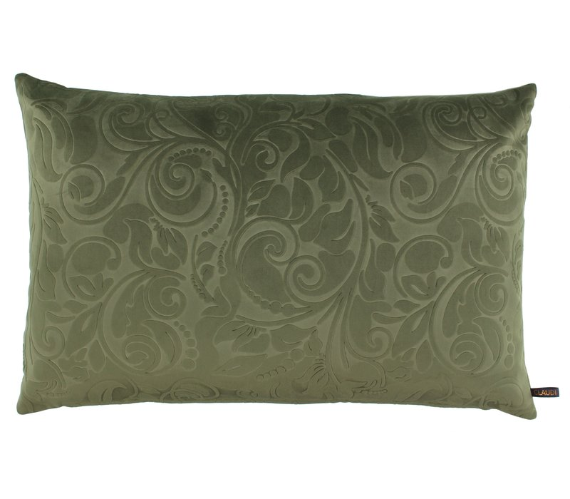 Throw pillow Aafje Olive