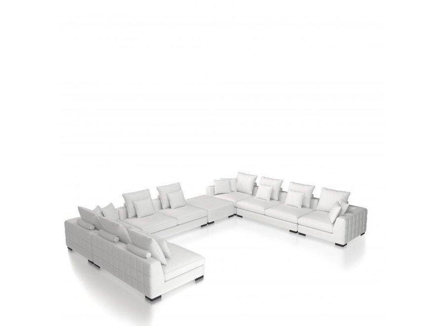 Corner Sofa 'Clifford' - Avalon white