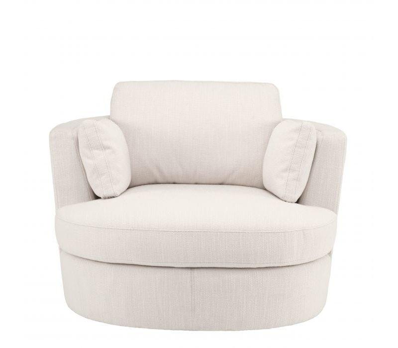 Drehsessel 'Clarissa' - Avalon white