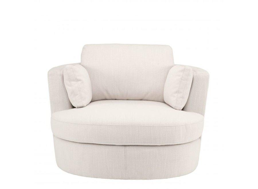 Draaistoel 'Clarissa' - Avalon white