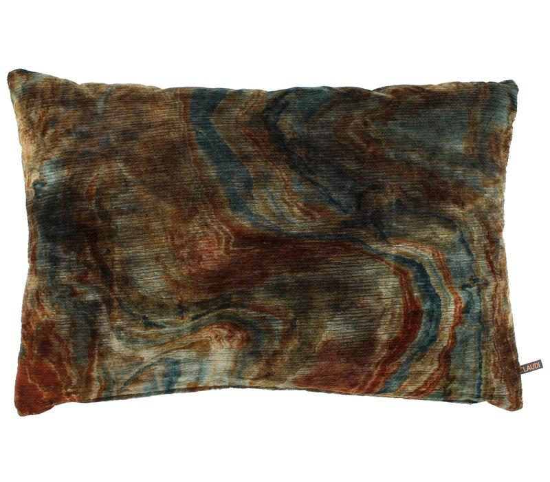 Throw pillow Nerdi Rust