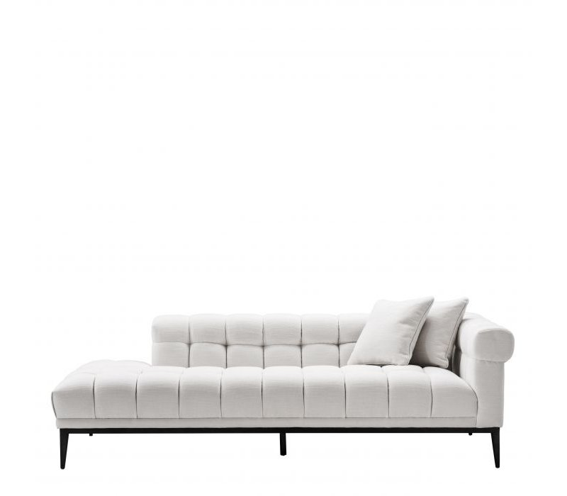 Lounge Sofa 'Aurelio' - Avalon white - Right