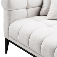 Lounge Sofa 'Aurelio' - Avalon white - Left
