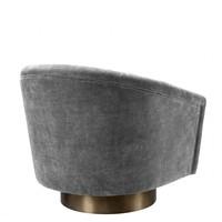 Draaistoel 'Catene' - Clarck grey