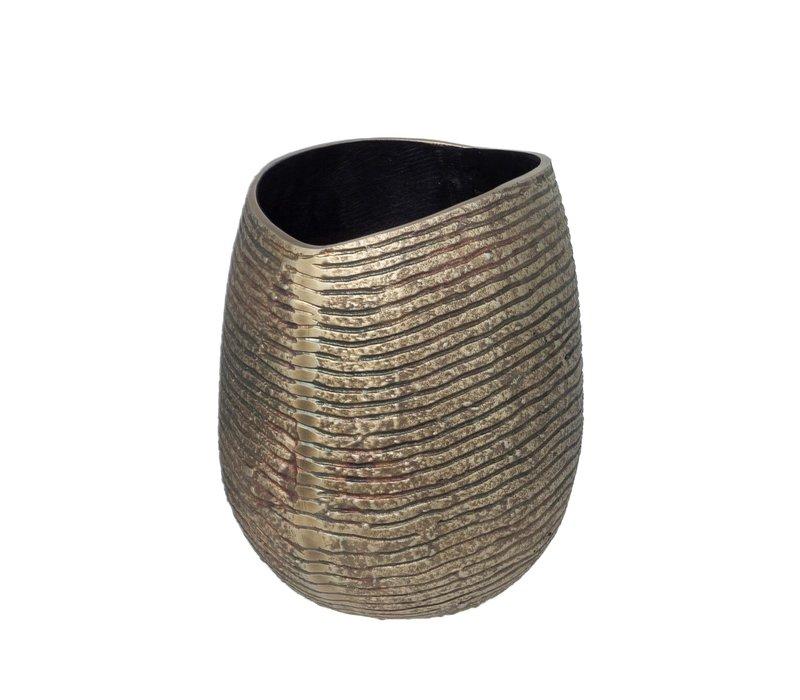 Vase 'Aluminium' - S