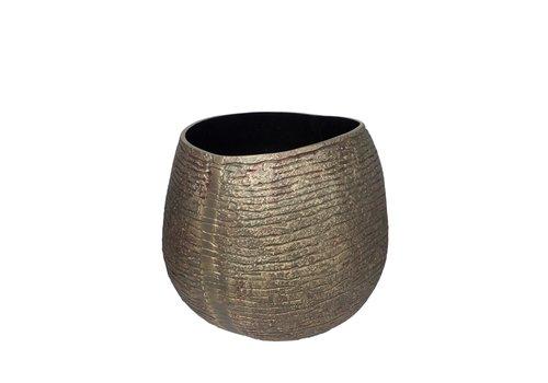 Dome Deco Vase Aluminium - M