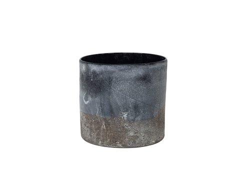 Dome Deco Vase Eroded - S