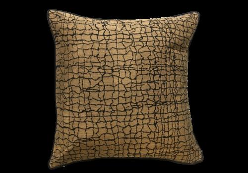 Leïlah Cushion Kanu Gold