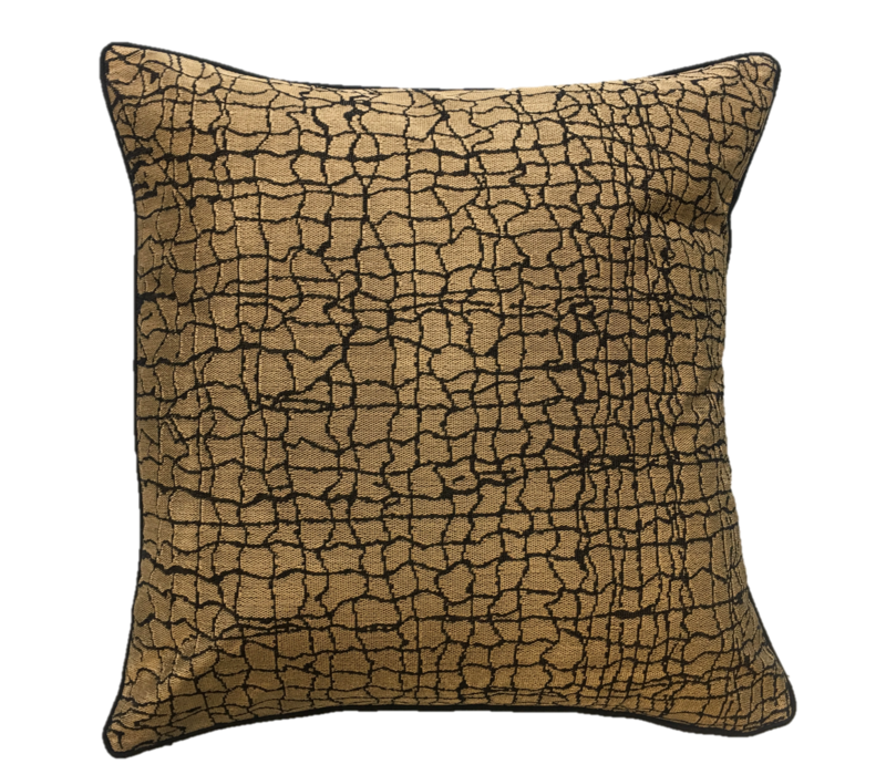 Throw pillow Kanu Gold