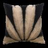 Leïlah Throw pillow Palmyra Black / Beige