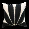 Leïlah Throw pillow Palmyra White / Black