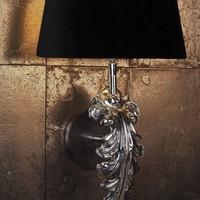 Wandlampe 'Beau Site' - Nickel