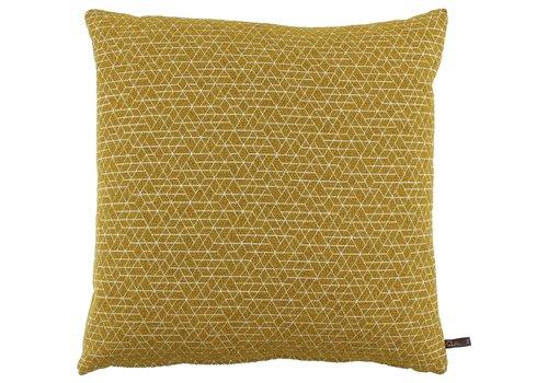 CLAUDI Cushion Juna Mustard