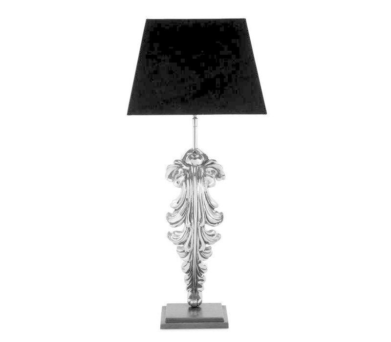 Table lamp 'Beau Site' - Nickel