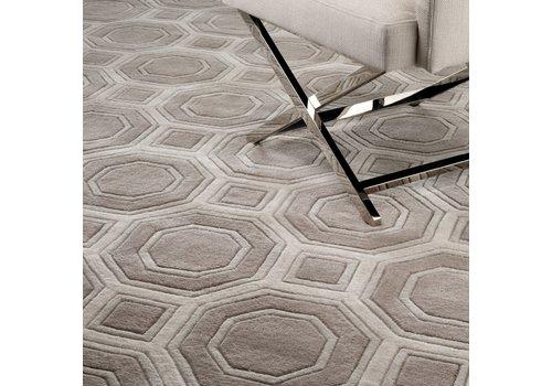 EICHHOLTZ Carpet 'Shaw' Brown Gray