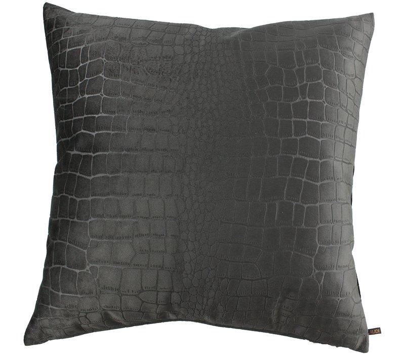 Throw pillow Brett Dark Taupe