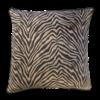 Leïlah Kissen Zebra Schwarz / Beige