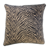 Leïlah Throw pillow Zebra Black / Beige