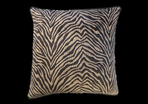 Leïlah Cushion Zebra Black / Beige