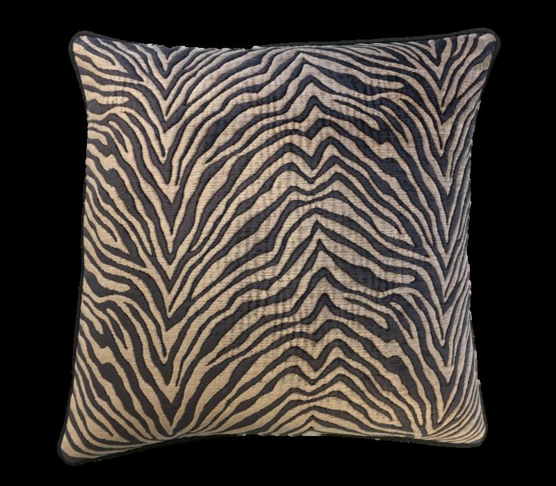 Sierkussen Zebra Black/Beige
