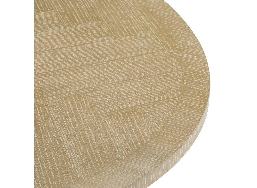 Eettafel Melchior ovaal 'White washed oak'