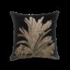 Leïlah Throw pillow Savannah Palm Black / Beige