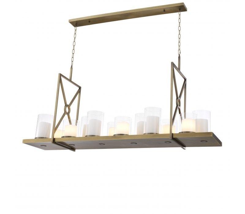 Hanging lamp 'Summit' - Brass