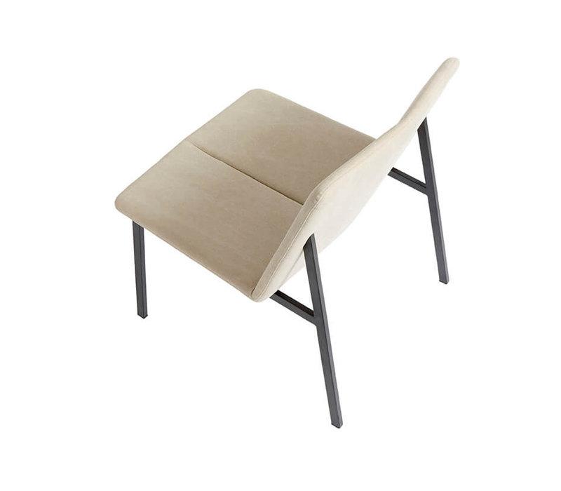 Lounge chair 'Chamfer' Dessert