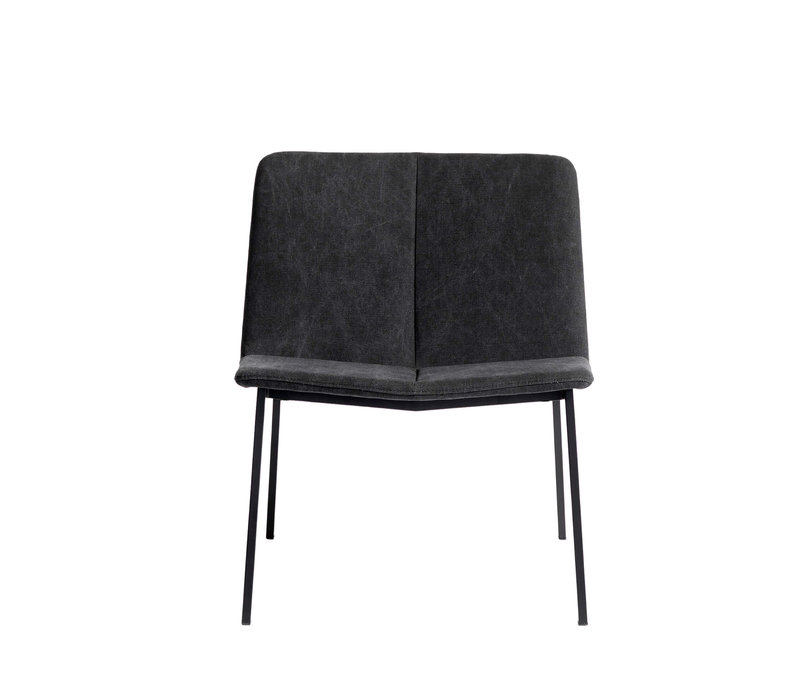 Lounge chair 'Chamfer' Anthracite