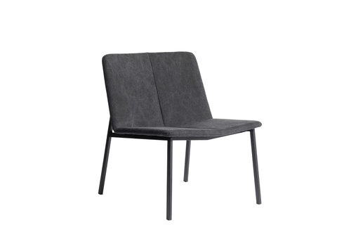MUUBS Lounge chair 'Chamfer' Anthracite