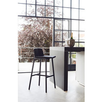 Bar stool 'Chamfer' Anthracite - 75cm